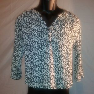 Tops - Forever 21 Printed Blouse Size S